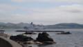 [礼文] 停泊中の大型客船