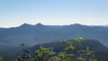 [上士幌][ニペソツ山] 右に南クマネシリ岳、左にクマネシリ岳と西クマネシリ岳