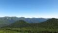 [上士幌][ニペソツ山] 奥左側に音更山と石狩岳