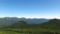奥左側に音更山と石狩岳