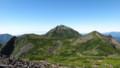[上士幌][ニペソツ山] 前天狗からニペソツ山を望む