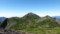 前天狗からニペソツ山を望む