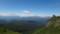 前天狗手前から見る大雪山と十勝岳連峰