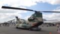 [千歳][千歳基地航空祭2013] CH-47輸送ヘリ