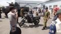 [千歳][千歳基地航空祭2013] KLX250偵察用オートバイ