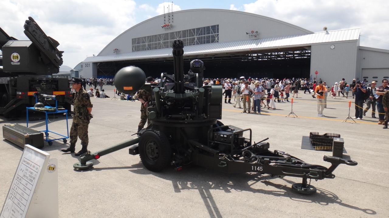 20ミリ対空機関砲