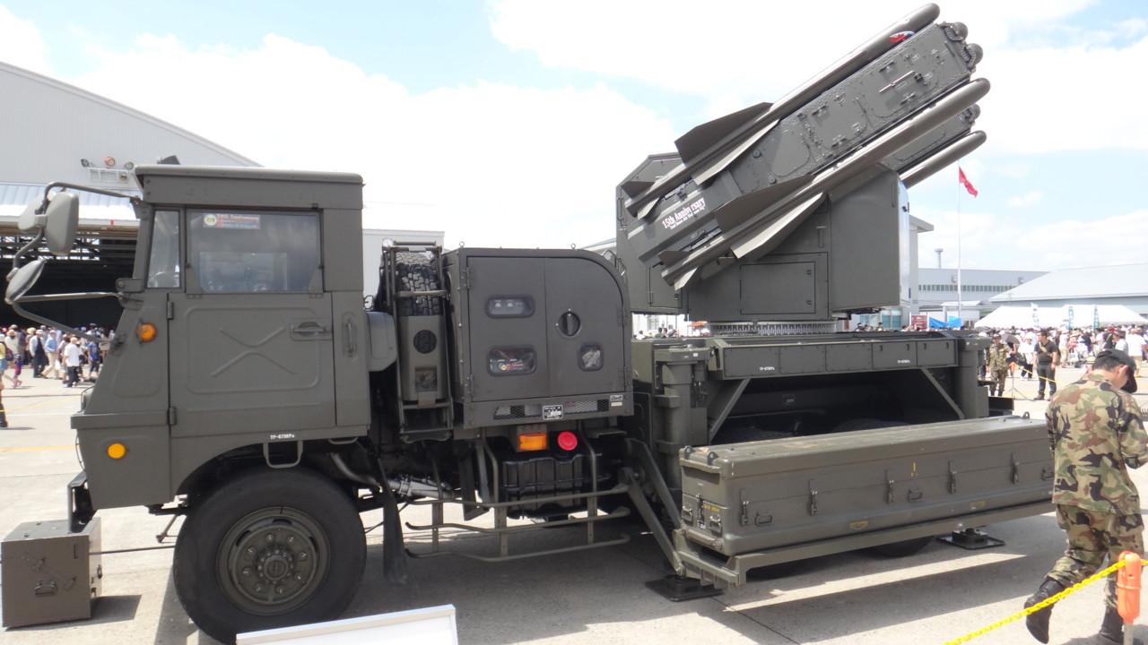 80式短距離SAM発射装置