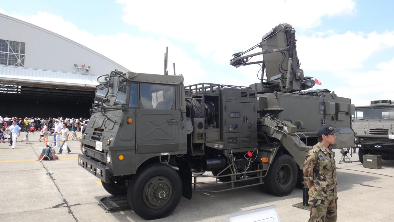 81式短距離SAM発射制御装置