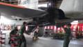 [千歳][千歳基地航空祭2013] エンジン分離展示開始