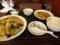 パンダ あんかけ焼きそばと麻婆豆腐セット(ライス大盛り)