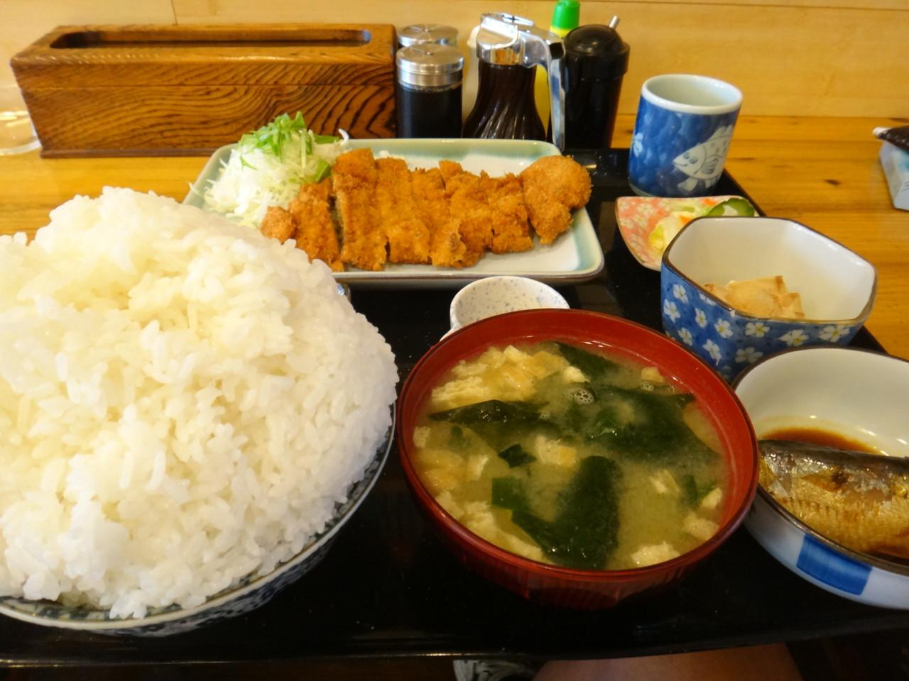 牛太郎 カツ定食