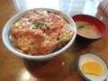[札幌][食堂][カツ丼] 味処 富士屋 カツ丼(超盛り)