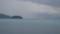 湖上でエスポワールとすれ違う