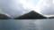 観音島と大島のあいだの海峡へ