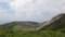 有珠山火口原展望台から見る火口原