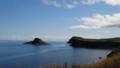 [利尻富士町] ポンモシリ島と夕日が丘展望台@富士岬
