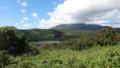 [利尻富士町] 利尻山とオタトマリ沼@沼浦展望台