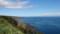海岸線の向こうに北海道本島@沼浦展望台