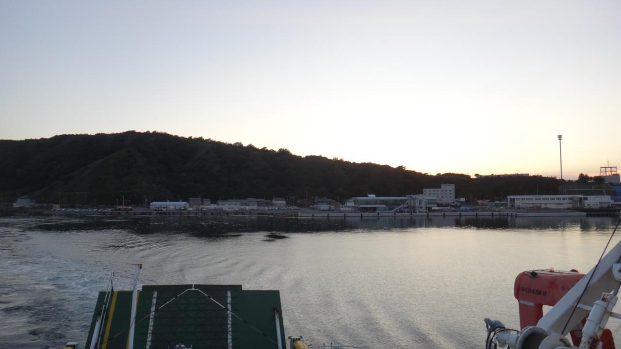 さようなら利尻島