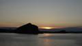 [利尻町] 夕暮れのペシ岬