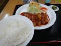 [稚内][食堂] ヴァンのとなり ポークチャップ定食