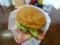 ウッディーベル 十勝チーズベーコンエッグバーガー アメリカンサイズ