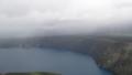 [弟子屈][カムイヌプリ(摩周岳)] 北からせまる雨雲@山頂