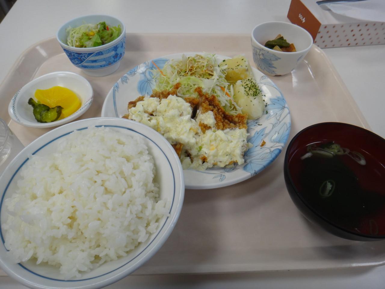 寒地土木研究所食堂 A定食