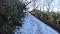 [ニセコ][ニセコアンヌプリ] 積雪した登山道