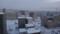 朝の旭川市街