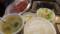 平和園 カルビ定食+サガリ