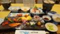[弟子屈][温泉][宿飯]夕食・据膳(画面外に煮物あり(撮り忘れ))