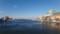 幣舞橋から見る釧路川河口