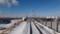 釧路港方面@踏切