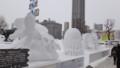 [札幌][さっぽろ雪まつり2014] 国際雪像