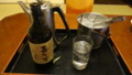 [八雲][温泉][宿飯] フライングで飲みはじめ
