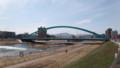 [札幌] 今年度の水穂大橋定点観測開始