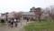 松前城入口
