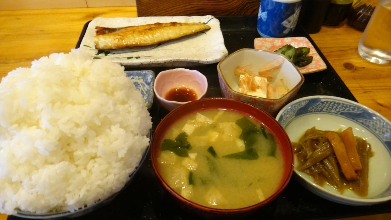 牛太郎 サバ塩焼き定食