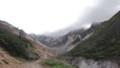 [上富良野][富良野岳][上ホロカメットク山] 安政火口の手前で渡渉