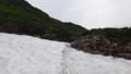 [上富良野][富良野岳][上ホロカメットク山] 雪渓をトラバース