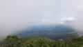 [上富良野][富良野岳][上ホロカメットク山] 一瞬ガスが晴れたのはやっぱり上富良野方面