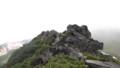[上富良野][富良野岳][上ホロカメットク山] ゴツゴツした岩場を越える