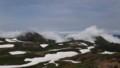 [上川][大雪山] 黒岳に覆い被さるガス
