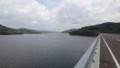 [当別] ダム湖を渡る