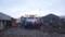 富士宮山頂のようす
