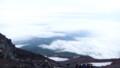 [静岡][富士山] 下り始めると眼下に雲海