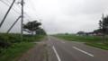 [中札内] どこまでもまっすぐ進む畑と道