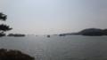 [宮城] 松島湾に浮かぶ島々と船