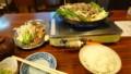 [札幌][焼肉] ジンギスカン定食(マトン)+追加ラム+行者にんにく